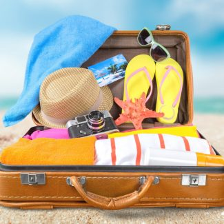 Beach, cruise, clothing