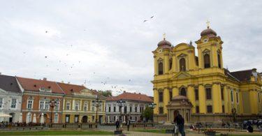 Piata Unirii din Timisoara