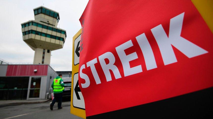 Grevă la aeroporturile din Berlin