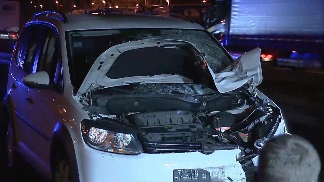 Accident tragic pe o autostradă din Germania. Un român a fost lovit din plin de o mașină