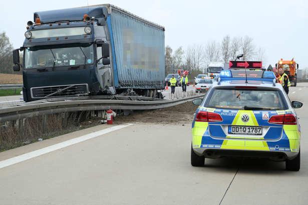 Accident camion românesc