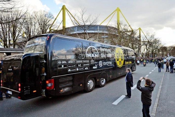 Arestat pentru plasarea bombei în apropierea autocarului Borussia Dortmund
