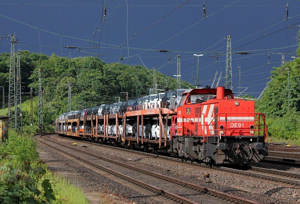 tren transport mașini