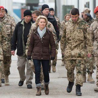 Ministrul apărării, Ursula von der Leyen