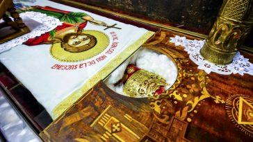 Moaştele Sfântului Mare Mucenic Ioan cel Nou de la Suceava