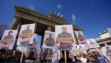 au protestat berlin