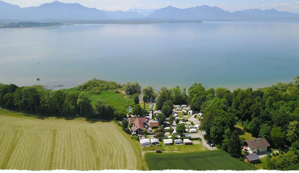 Chiemsee camping Seehäusel