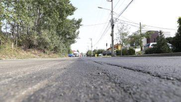 România stradă asfaltată