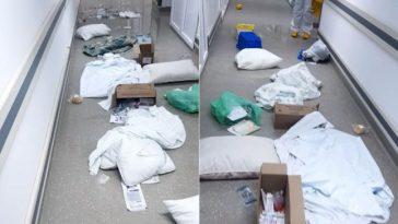 spital devastat
