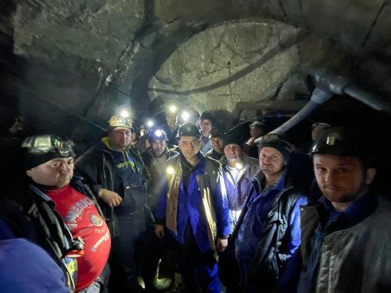 mineri greva sparanghel