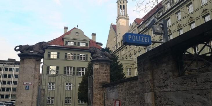 roman mort arestul politiei Munchen