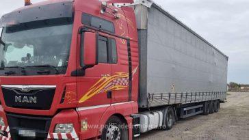TIR încărcat cu 15 tone de gunoaie aduse din Germania, oprit la intrarea în România